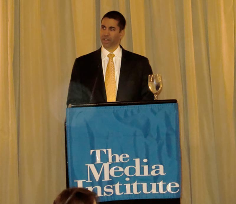 Commissioner Ajit Pai of the Federal Communications Commission